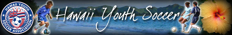 Hawaii Youth Soccer Association banner